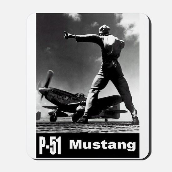 P-51 Mustang Mousepad