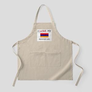 I Love My Armenian Dad BBQ Apron