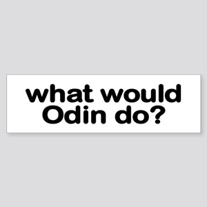 Odin Bumper Sticker