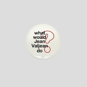Jean Valjean Mini Button