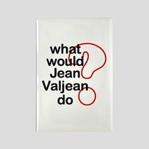 Jean Valjean Rectangle Magnet