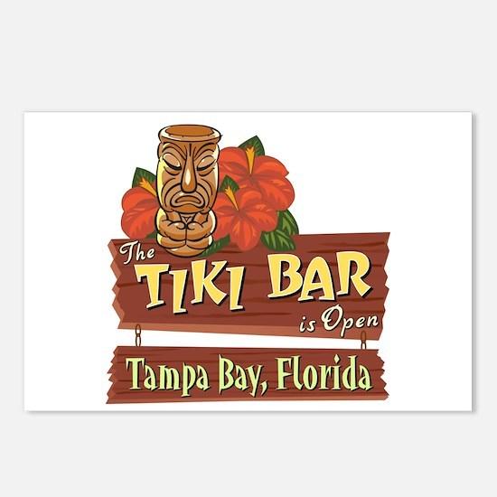 Tampa Bay Tiki Bar - Postcards (Package of 8)