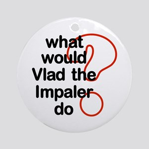 Vlad the Impaler Ornament (Round)