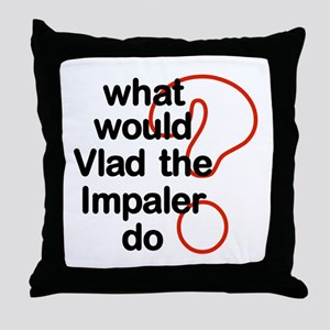 Vlad the Impaler Throw Pillow