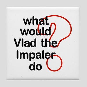 Vlad the Impaler Tile Coaster