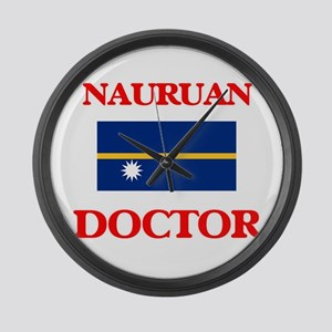 Nauruan Doctor Large Wall Clock
