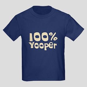 100% Yooper (2) Kids Dark T-Shirt