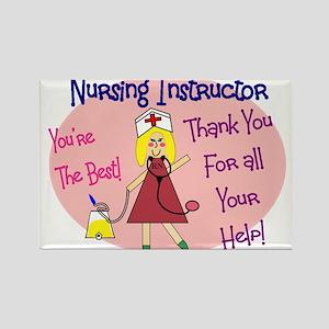 Nursing Instructor Rectangle Magnet