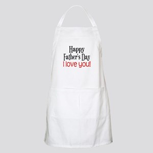 Happy Father's Day BBQ Apron