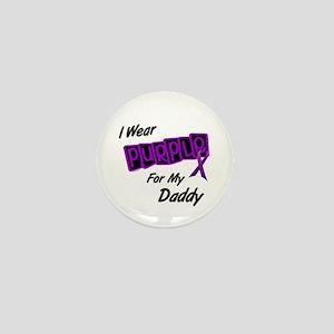 I Wear Purple For My Daddy 8 Mini Button