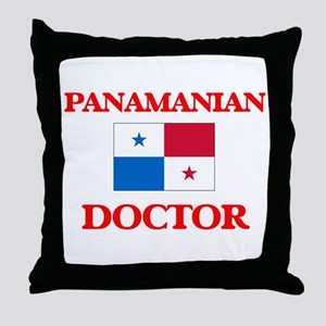 Panamanian Doctor Throw Pillow