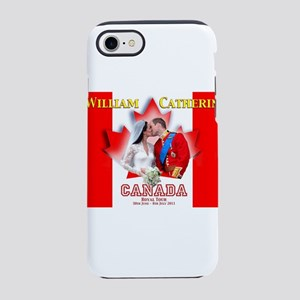 Duke and Duchess of Cambridg iPhone 8/7 Tough Case