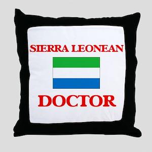 Sierra Leonean Doctor Throw Pillow