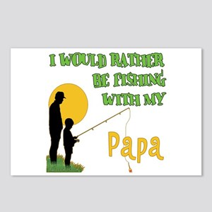 Fishing With Papa Postcards (Package of 8)