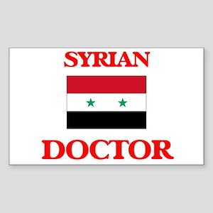 Syrian Doctor Sticker