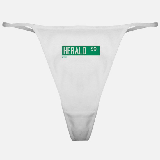 Herald Square in NY Classic Thong