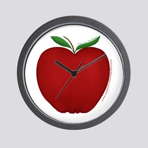 Cute Apple 2 Wall Clock