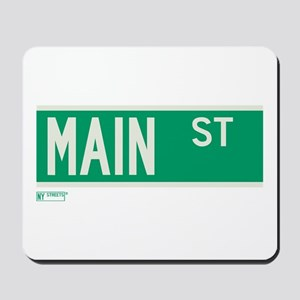Main Street in NY Mousepad