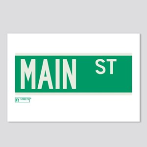 Main Street in NY Postcards (Package of 8)