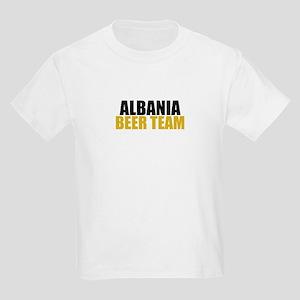 Albania Beer Team Kids Light T-Shirt
