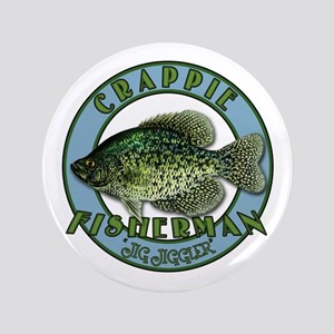 """Click to view Crappie product 3.5"""" Button"""