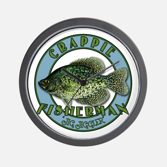 Click to view Crappie product Wall Clock