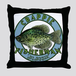 Click to view Crappie product Throw Pillow