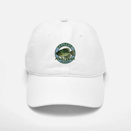 Click to view Crappie product Baseball Baseball Cap