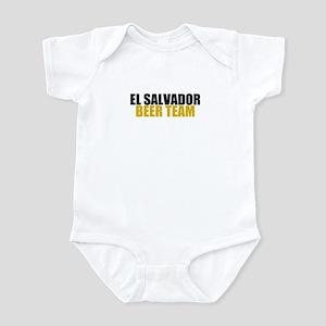 El Salvador Beer Team Infant Bodysuit