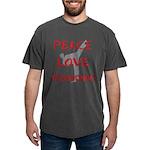 Peace Love Taekwondo T-Shirt