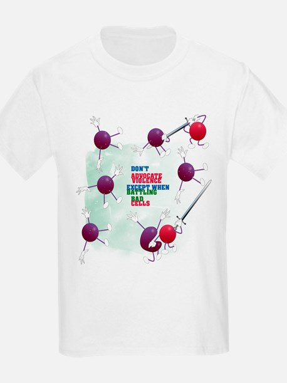 Cancer Survivor: Laughter Kills Bad Cells T-Shirt