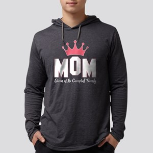 Mom Queen Of The Campbell Fami Long Sleeve T-Shirt