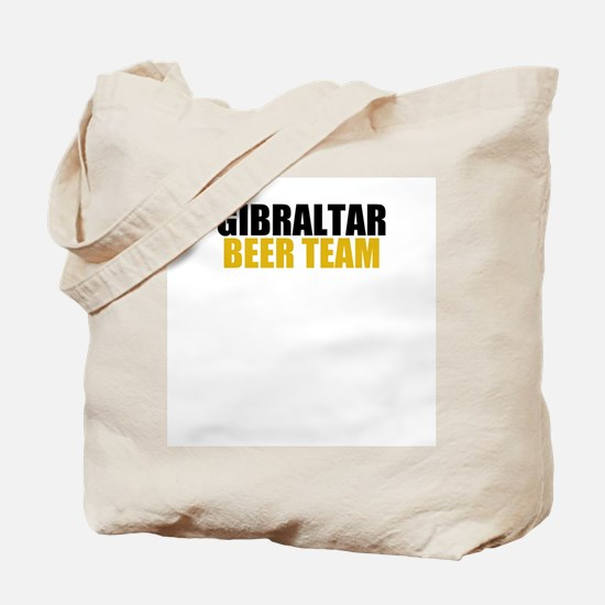 Gibraltar Beer Team Tote Bag