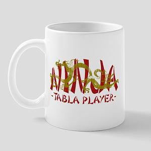 Dragon Ninja Tabla Player Mug
