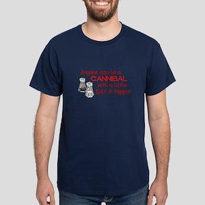 Cannibal Salt&Pepper Navy T-Shirt