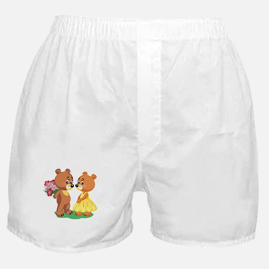 Young Love Teddy's Boxer Shorts