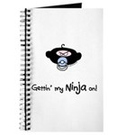 Rude lil dude ninja Journal