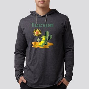 Tucson Lizard under Cactus Long Sleeve T-Shirt