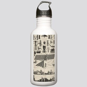 Industrial antique air Stainless Water Bottle 1.0L