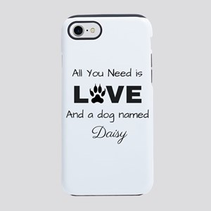 All you need is love and a d iPhone 8/7 Tough Case