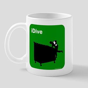 I dive dumpster diver Mug
