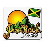Welcome to JamRock, Jamaica Mousepad