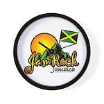 Welcome to JamRock, Jamaica Wall Clock