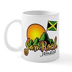 Welcome to JamRock, Jamaica Mug