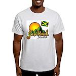 Welcome to JamRock, Jamaica Ash Grey T-Shirt