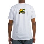 Welcome to JamRock, Jamaica Fitted T-Shirt