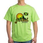 Welcome to JamRock, Jamaica Green T-Shirt