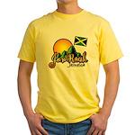 Welcome to JamRock, Jamaica Yellow T-Shirt