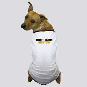 Liechtenstein Beer Team Dog T-Shirt