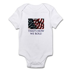 That's How We Roll! Infant Bodysuit